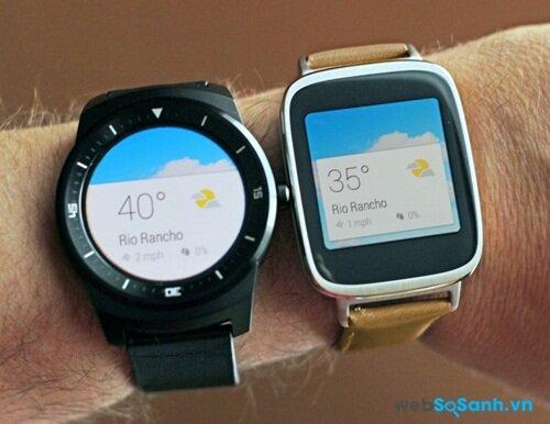 G Watch R và ZenWatch. Nguồn Internet