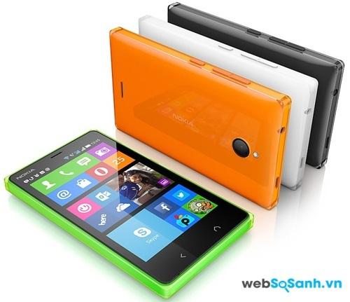 Điện thoại Nokia X2 có thiết kế vuông vắn, và khá dày