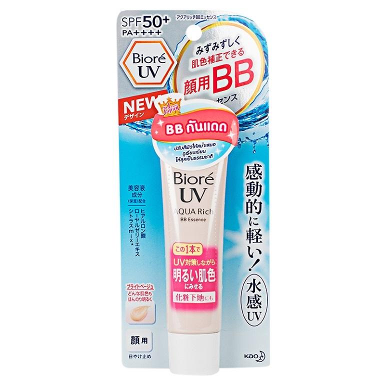 Kem chống nắng Biore UV Aqua rich Watery BB Essence SPF 50+ PA+++