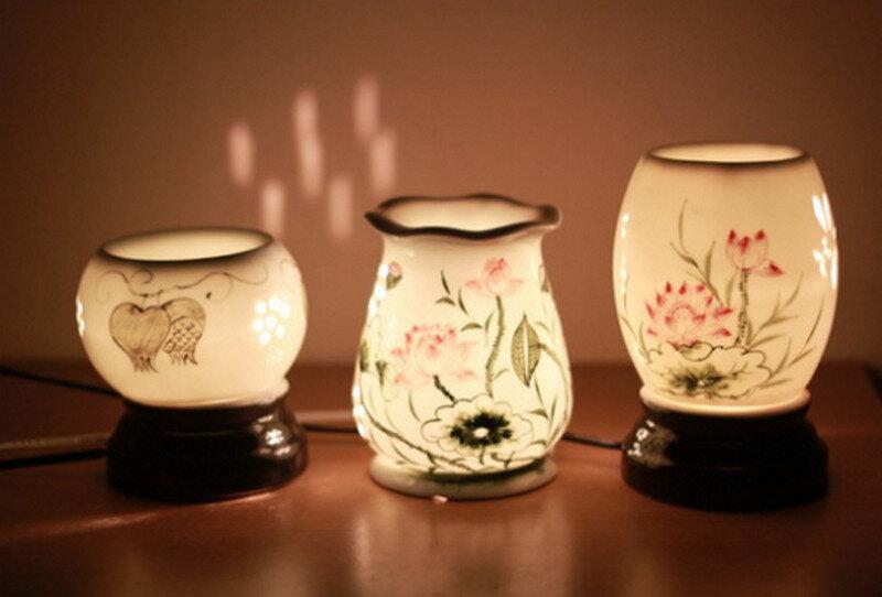Sử dụng đèn xông tinh dầu bạc hà để đuổi chuột