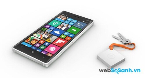 Lumia 830 vuông vắn với khung kim loại
