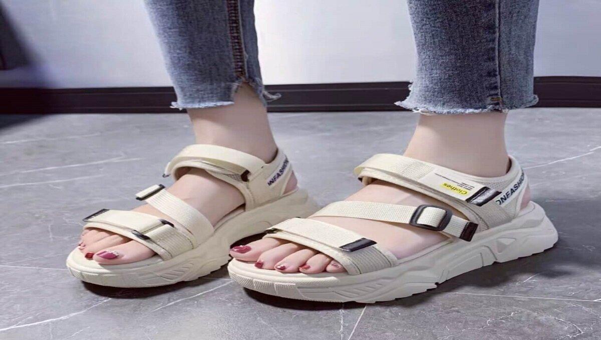 Giày sandal nữ Hàn Quốc đế độn