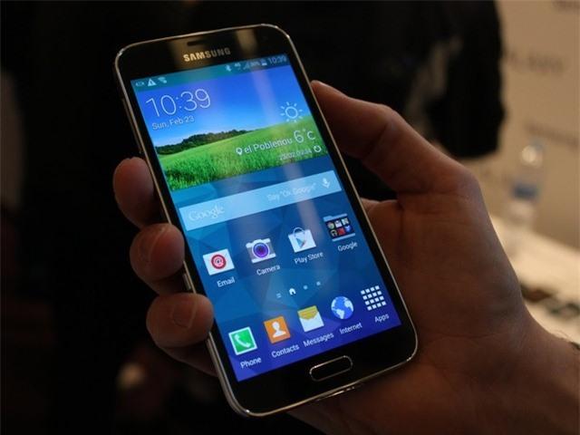 Galaxy S5 được cập nhật cải thiện camera và cảm biến vân tay