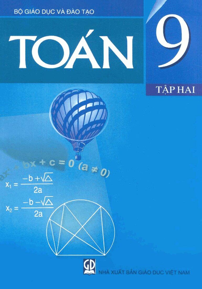 Sách giáo khoa toán 9 giúp ích cho kỳ thi lên trung học phổ thông