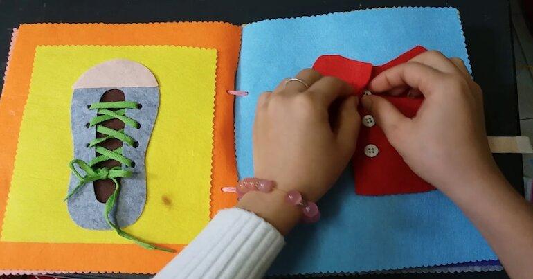 Sách vải kỹ năng sống an toàn cho trẻ