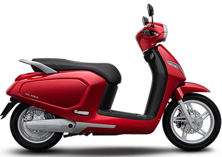 xe máy điện vinfast có những màu nào
