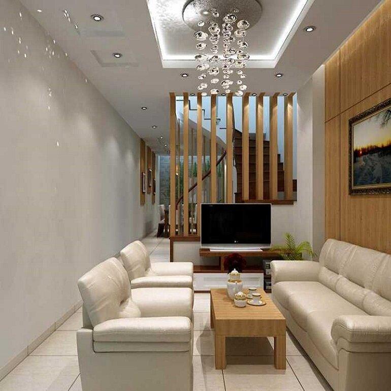 thiết kế và sử dụng nội thất nhà ống