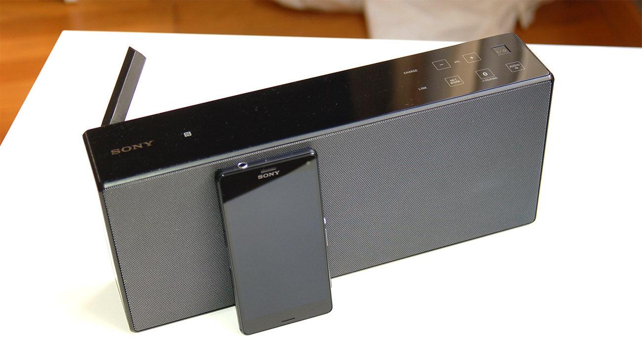 của loa bluetooth Sony SRS X7
