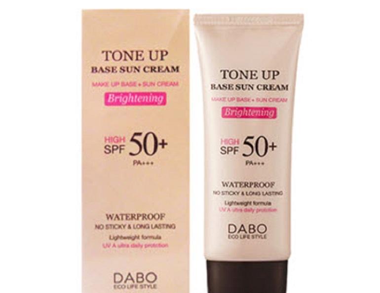 Kem chống nắng lót nền trang điểm Dabo Tone Up Base Sun Cream SPF50 PA+++