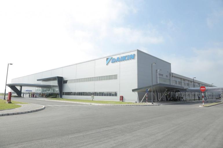 Nhà máy sản xuất điều hòa Daikin Việt Nam tại Hưng Yên