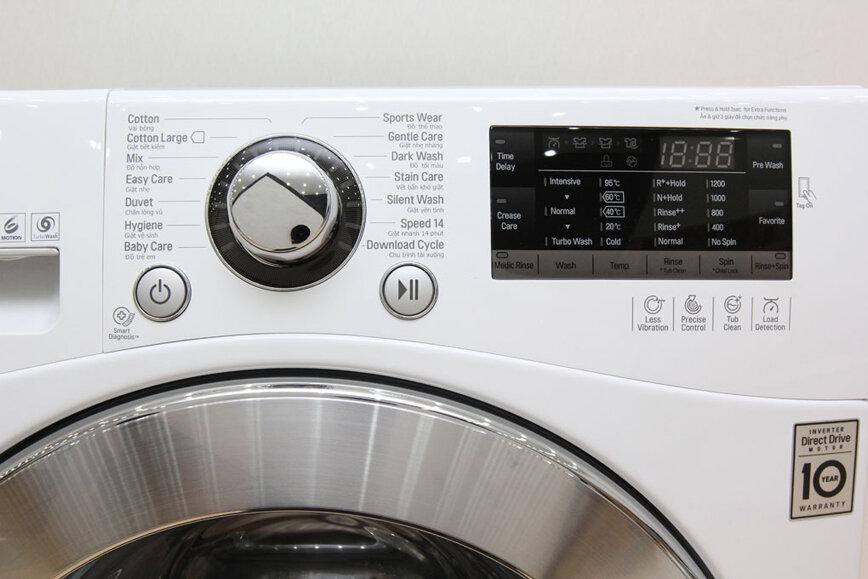 Tính năng máy giặt LG FC1409S2W