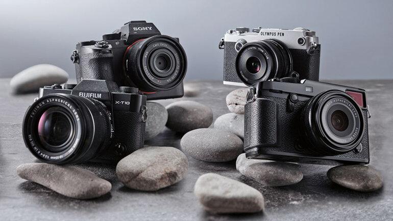Máy ảnh Mirrorless chụp hình đẹp nhất