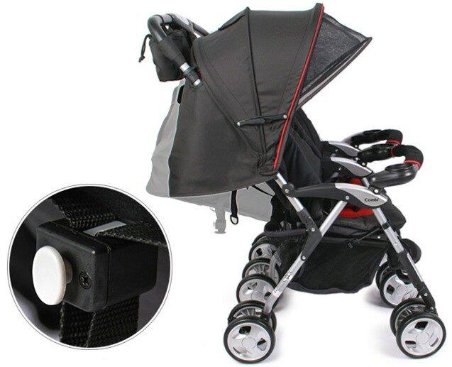 Xe đẩy đôi siêu nhẹ dành cho bé yêu Combi TS-5
