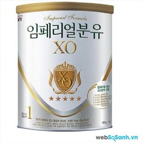 Sữa bột XO 1 (nguồn: internet)