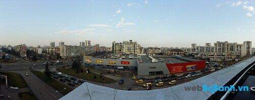 Ảnh panorama chụp từ camera chính của Galaxy A5