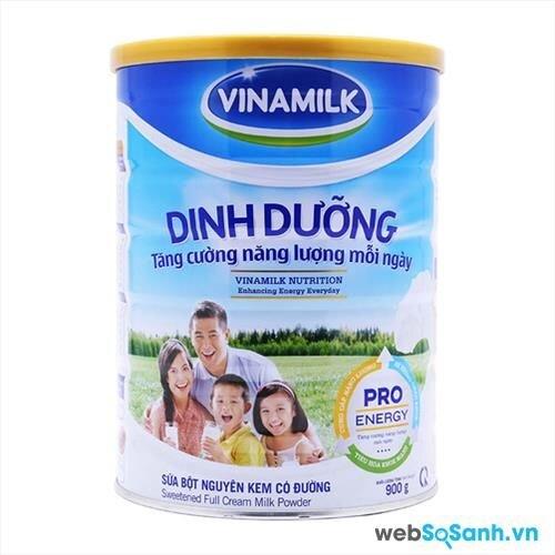 sữa bột cho thanh niên người lớn Vinamilk
