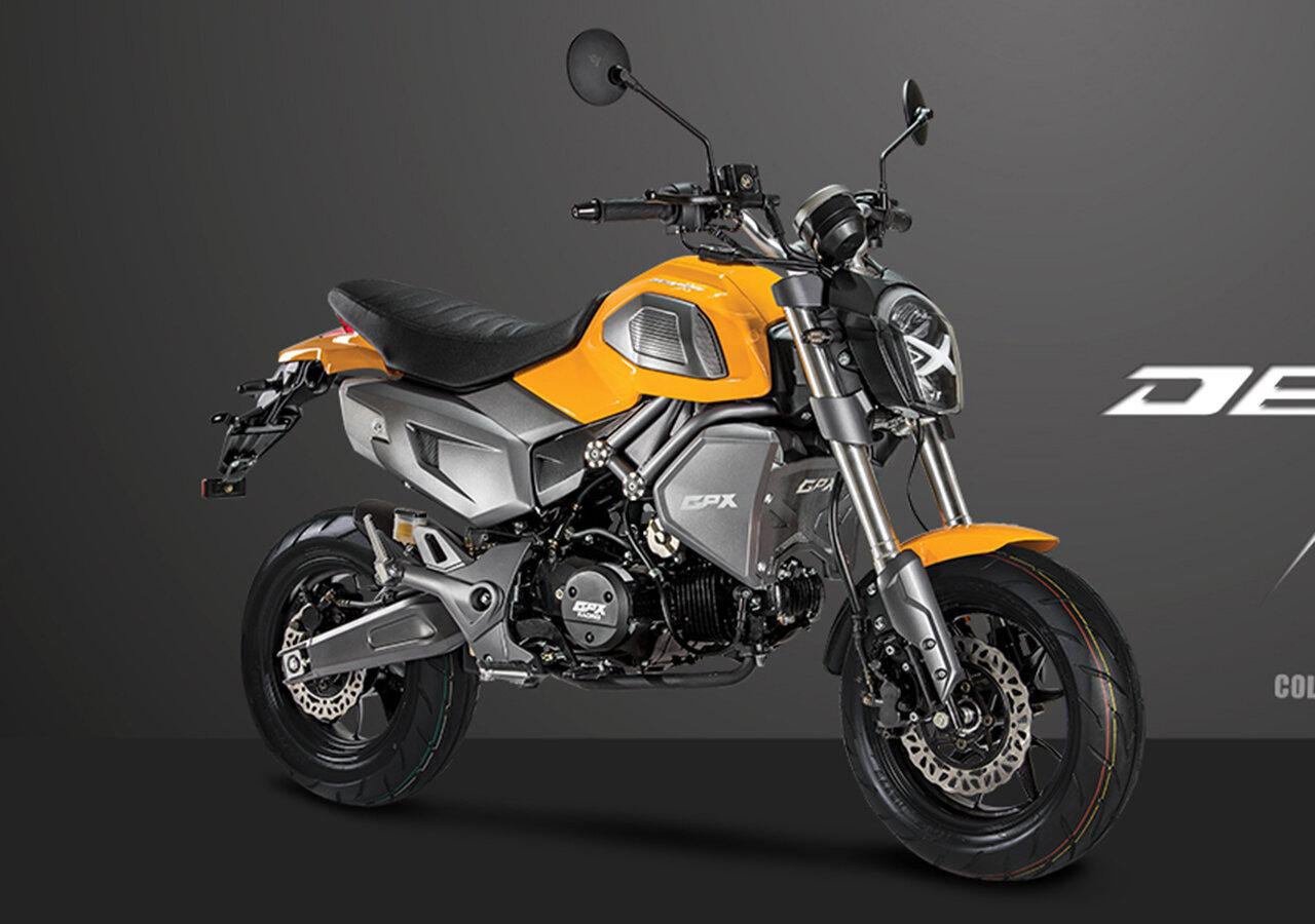 Xe moto GPX Demon X 125 có thiết kế cá tính độc đáo