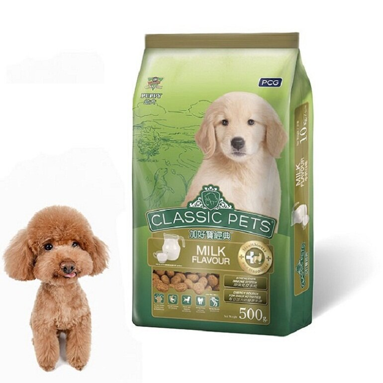 Thức ăn Classic Pets vị sữa cho chó nhỏ