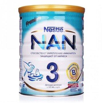 Sữa NAN Nga số 3 800g (Trên 12 tháng)
