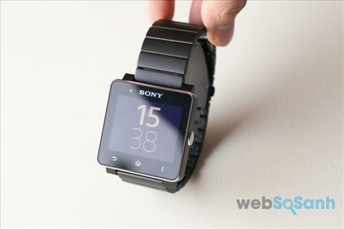 đồng hồ thông minh sony smartwatch 2