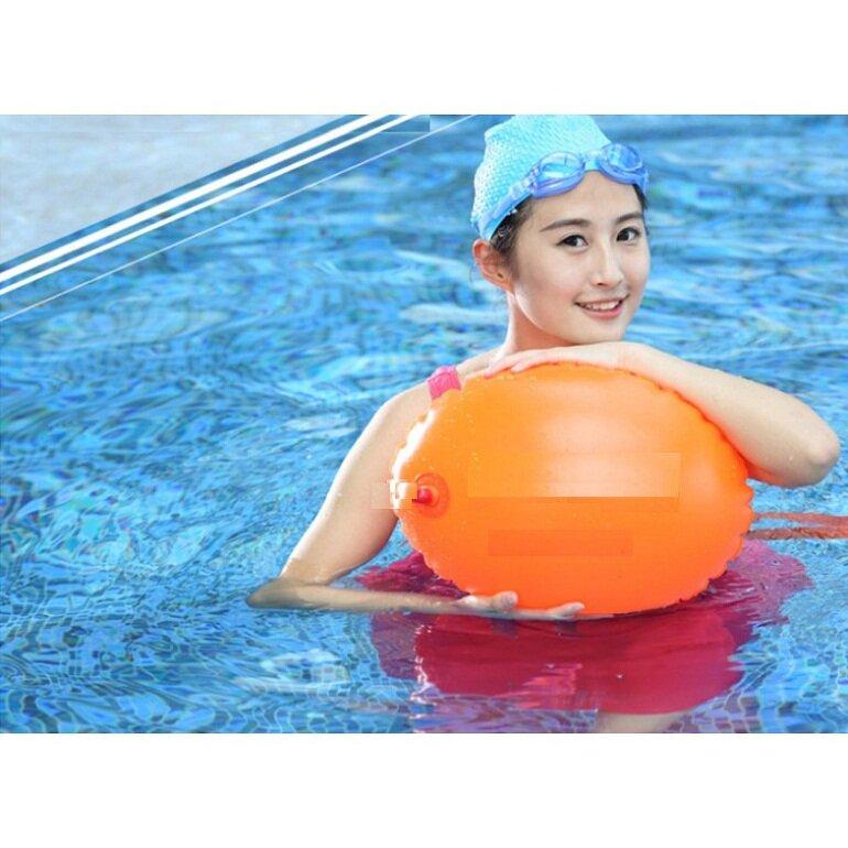Phao bơi biển oval đeo thắt lưng 2 túi khí