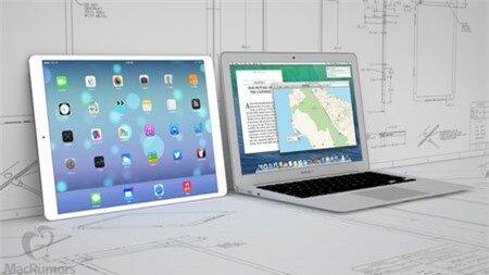 iPad 12,9 inch sẽ được Apple ra mắt trong năm 2014.
