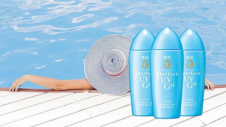 Kem chống nắng body Senka Perfect UV Milk SPF 50+