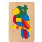 Đồ chơi gỗ tranh ghép thú Winwintoys 61242