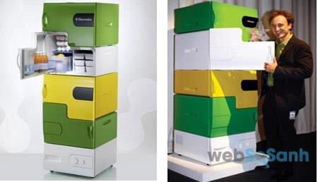 Tủ lạnh Mô đun với các khoang chứa độc lập