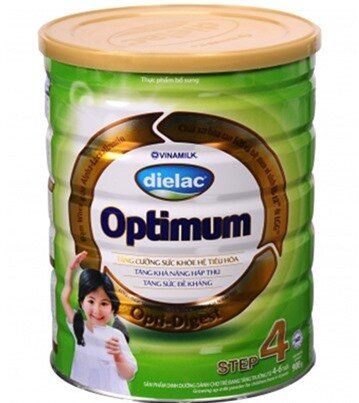 Sữa bột Dielac Optimum Step 4 - hộp 900g (dành cho trẻ từ 4 - 6 tuổi)