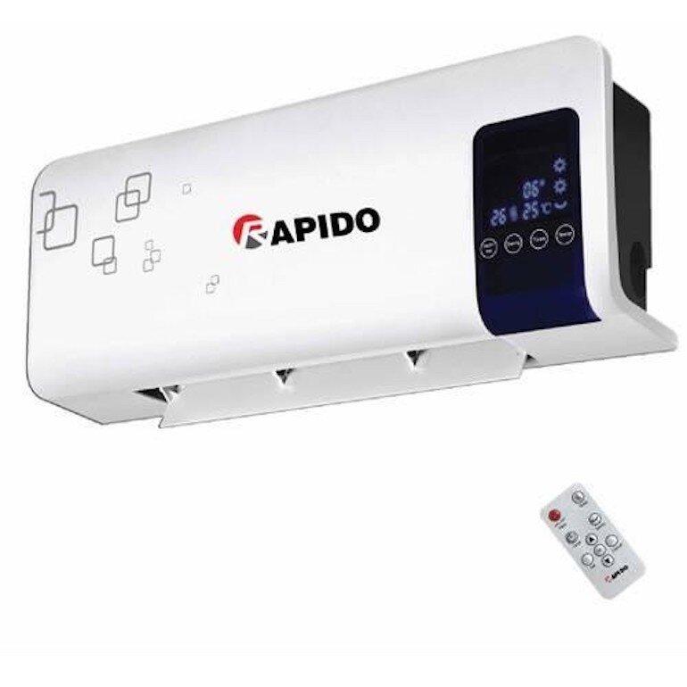 Máy sưởi gốm Rapido bảo vệ sức khỏe cho người sử dụng