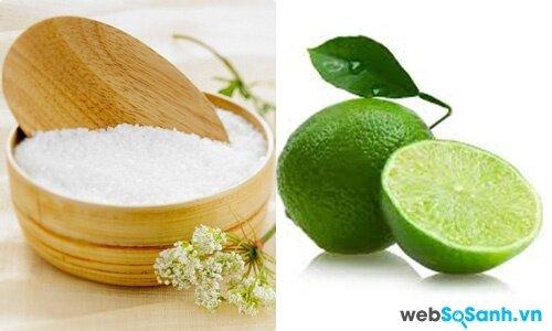 Muối soda và chanh được sử dụng làm chất tẩy rửa đa dụng và an toàn
