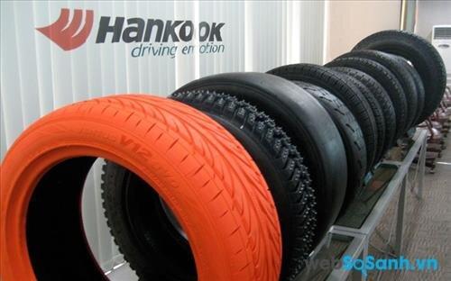 Mua lốp ô tô hãng nào tốt nhất: Lốp ô tô Hankook