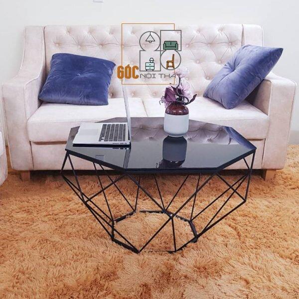 Bàn sofa kim cương Mystique