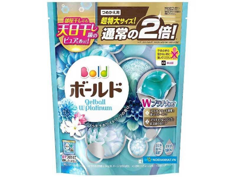 Viên giặt Nhật Bản