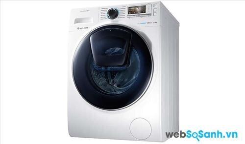 Chiếc máy giặt thông minh AddWash có thêm một cửa phụ nhỏ trên cánh cửa chính