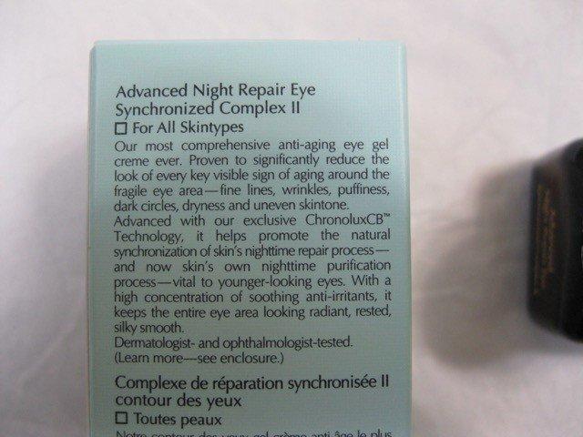 thành phần kem dưỡng estee lauder advanced night repair eye synchronized