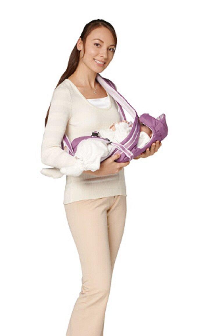 Địu cho bé sơ sinh Aprica Pitta được nhiều bà mẹ đã lựa chọn sử dụng