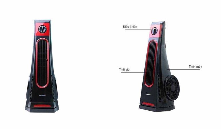 so sánh quạt tháp unold 86890 và tiross ts9180