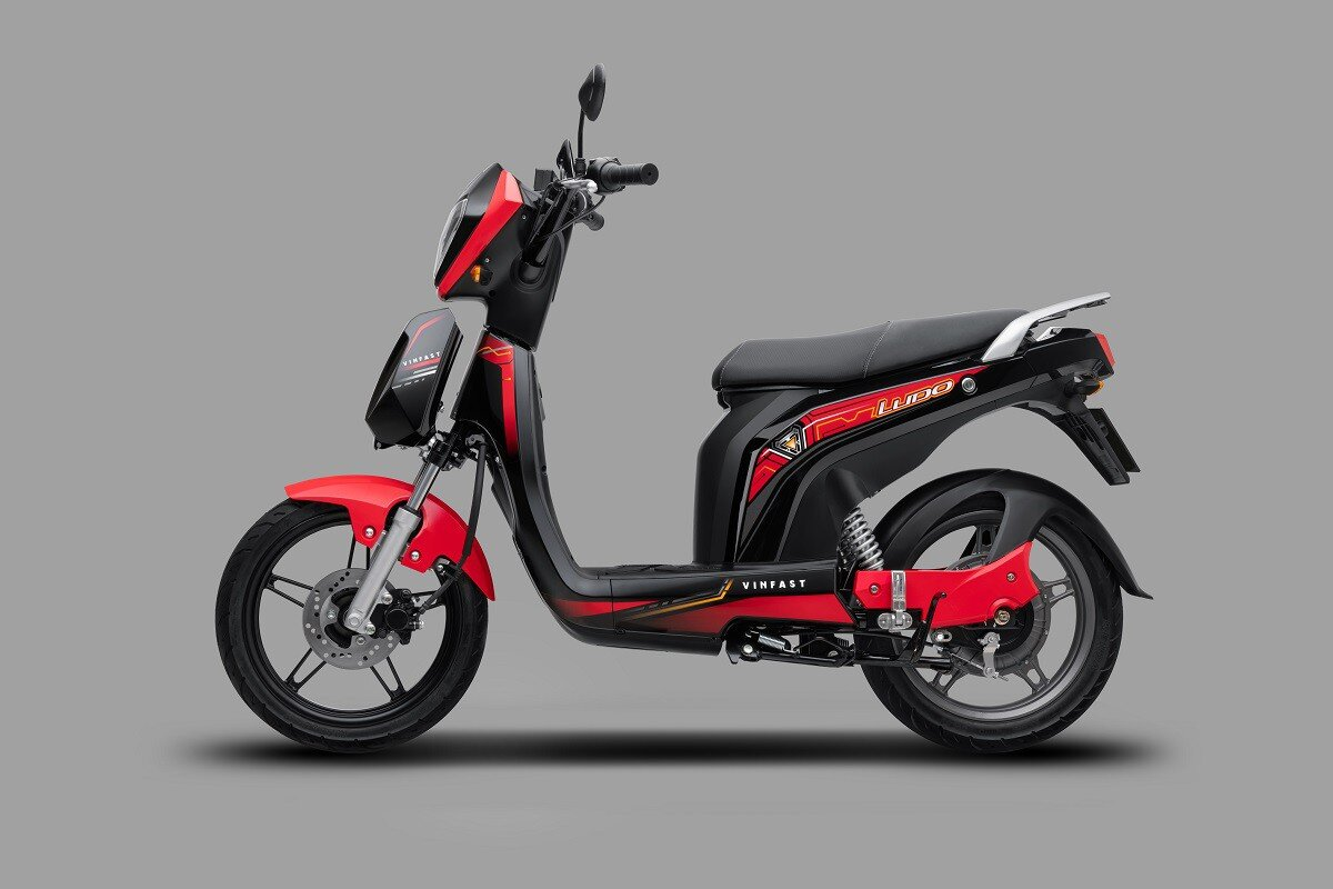 Xe máy điện VinFast Ludo với trang bị động cơ leo dốc 7 cấp độ