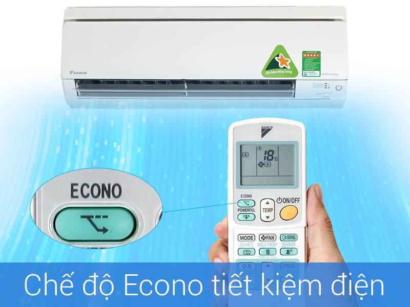 Chế độ tiết kiệm điện của điều hòa Daikin