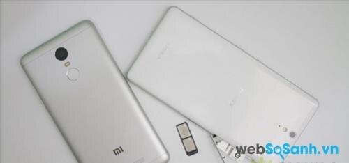Bạn chọn điện thoại Xperia C5 Ultra hay Redmi Note 3?