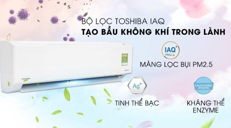 Điều hòa máy lạnh Toshiba Inverter 1 HP RAS-H10DKCVG-V - Giá rẻ nhất: 6.840.000 vnđ