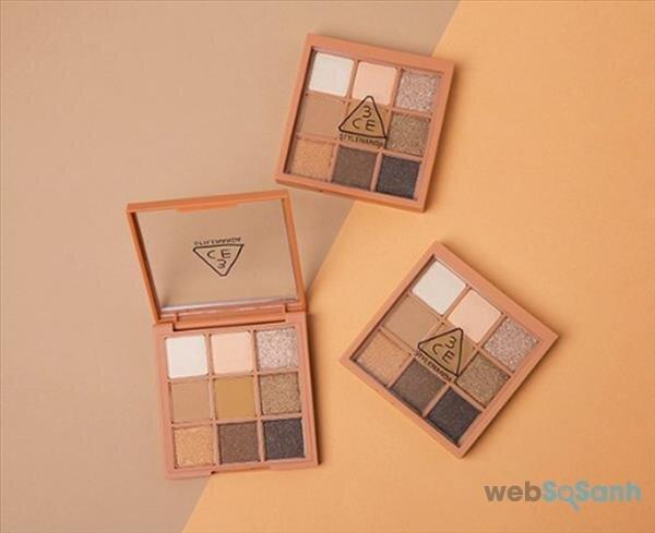 bảng màu mắt 3CE khá đẹp và hợp dùng trong mùa đông nên hấp dẫn nhiều tín đồ làm đẹp