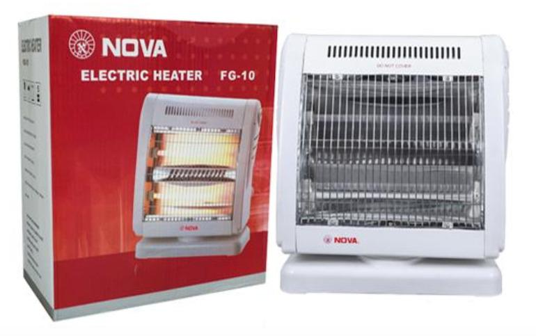 Tính năng tự động ngắt của đèn sưởi Nova 2 bóng