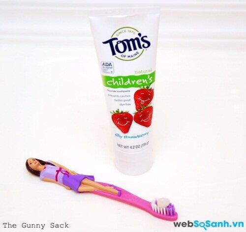 Kem đánh răng 100% tự nhiên