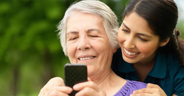 điện thoại cho người già chính hãng