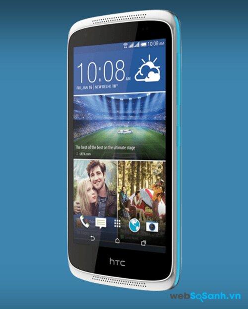 HTC Desire 816 và HTC Desire 526G Plus chạy Android KitKat