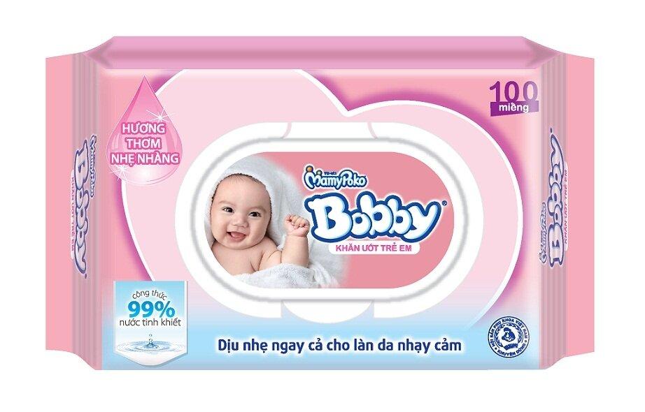 Khăn ướt Bobby Care