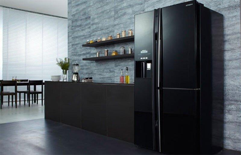 Thiết kế của tủ lạnh Hitachi mang tính thẩm mỹ cao